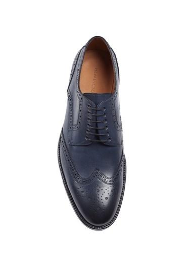 Hemington El Yapımı Klasik Deri Ayakkabı Lacivert